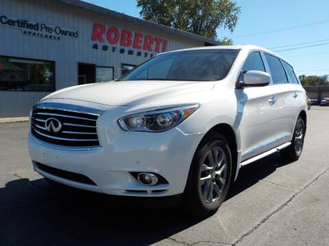 2013 Infiniti JX35 for sale at Roberti Automotive in Kingston NY