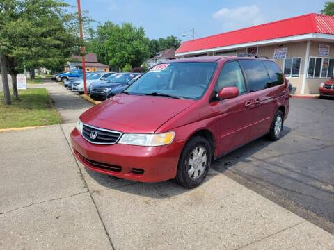 2003 Honda Odyssey for sale at THE PATRIOT AUTO GROUP LLC in Elkhart IN