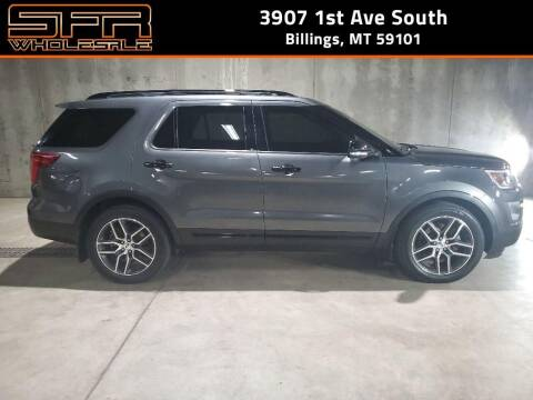 2017 Ford Explorer for sale at SFR Wholesale in Billings MT