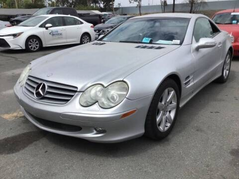 2003 Mercedes-Benz SL-Class for sale at SoCal Auto Auction in Ontario CA