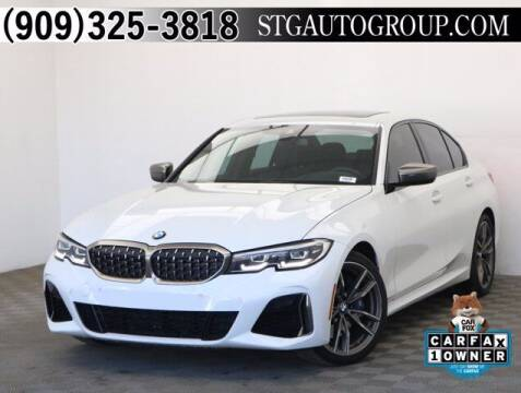 2020 BMW 3 Series for sale at STG Auto Group in Montclair CA