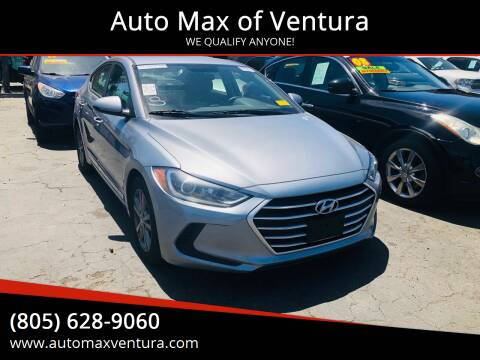 2017 Hyundai Elantra for sale at Auto Max of Ventura in Ventura CA