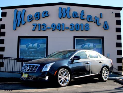 2013 Cadillac XTS for sale at MEGA MOTORS in South Houston TX