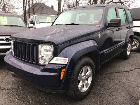 2012 Jeep Liberty for sale at Deleon Mich Auto Sales in Yonkers NY