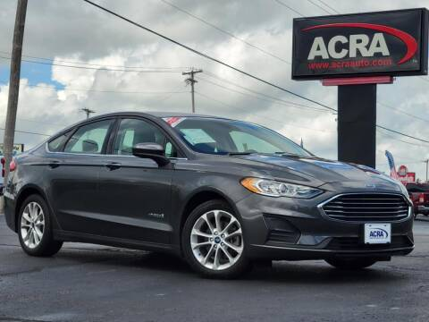 2019 Ford Fusion Hybrid for sale at BuyRight Auto in Greensburg IN