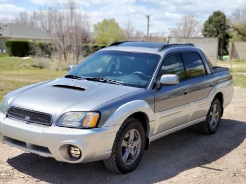 2004 Subaru Baja for sale at FRESH TREAD AUTO LLC in Springville UT
