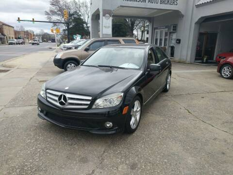 2010 Mercedes-Benz C-Class for sale at ROBINSON AUTO BROKERS in Dallas NC