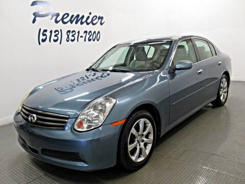 2006 Infiniti G35 for sale at Premier Automotive Group in Milford OH