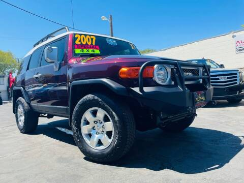 2007 Toyota FJ Cruiser for sale at Alpha AutoSports in Roseville CA