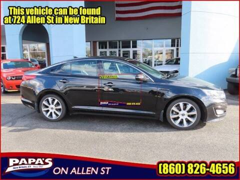 2012 Kia Optima for sale at Papas Chrysler Dodge Jeep Ram in New Britain CT