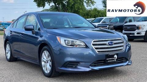 2017 Subaru Legacy for sale at RAVMOTORS in Burnsville MN