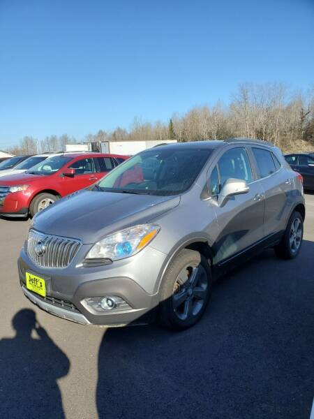 2014 Buick Encore for sale at Jeff's Sales & Service in Presque Isle ME