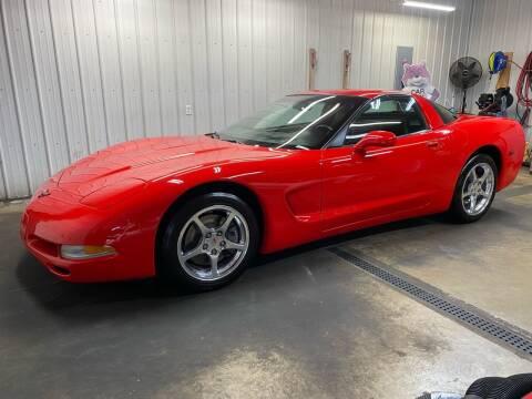 2001 Chevrolet Corvette for sale at Ryans Auto Sales in Muncie IN