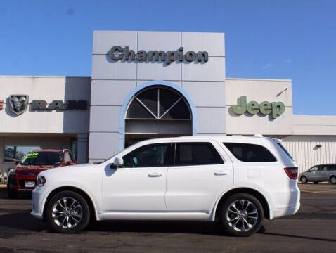 2019 Dodge Durango for sale at Champion Chevrolet in Athens AL