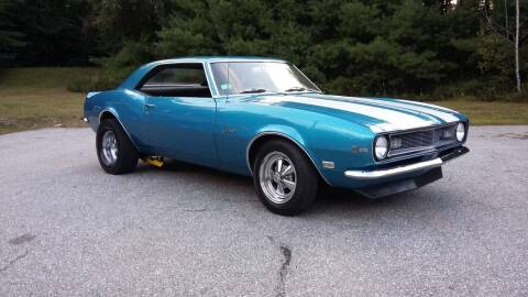 1968 Chevrolet Camaro for sale at H P M Sales in Goffstown NH