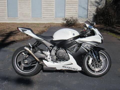 2011 Suzuki GSX-R600 for sale at Blue Ridge Riders in Granite Falls NC