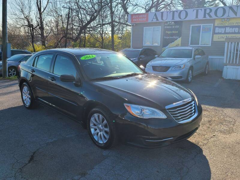 2013 Chrysler 200 for sale at Auto Tronix in Lexington KY
