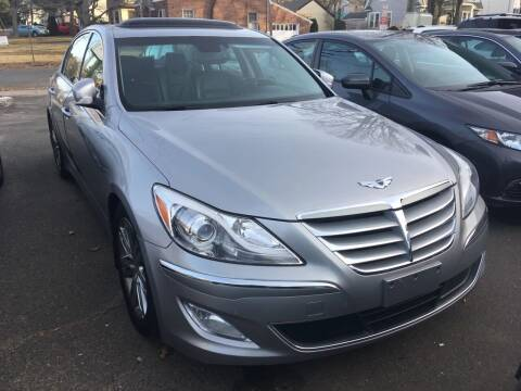 2013 Hyundai Genesis for sale at MELILLO MOTORS INC in North Haven CT