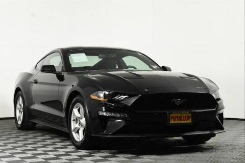 2019 Ford Mustang for sale at Chevrolet Buick GMC of Puyallup in Puyallup WA