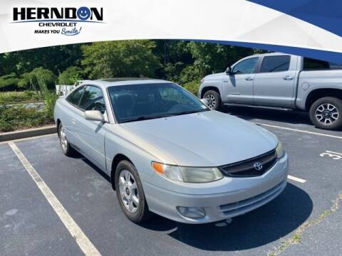 2001 Toyota Camry Solara for sale at Herndon Chevrolet in Lexington SC