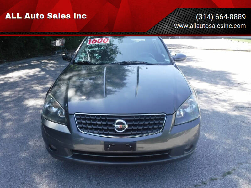 2006 Nissan Altima for sale at ALL Auto Sales Inc in Saint Louis MO