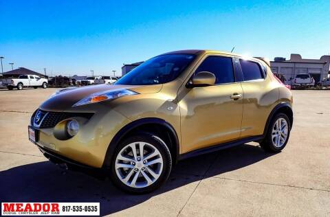 2014 Nissan JUKE for sale at Meador Dodge Chrysler Jeep RAM in Fort Worth TX