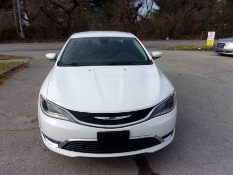 2015 Chrysler 200 for sale at Auto Sales Sheila, Inc in Louisville KY