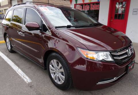 2014 Honda Odyssey for sale at VISTA AUTO SALES in Longmont CO