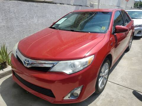 2014 Toyota Camry Hybrid for sale at Express Auto Sales in Los Angeles CA