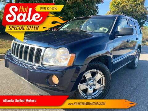2006 Jeep Grand Cherokee for sale at Atlanta United Motors in Buford GA