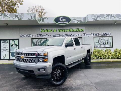 2014 Chevrolet Silverado 1500 for sale at Greenway Auto Sales in Jacksonville FL