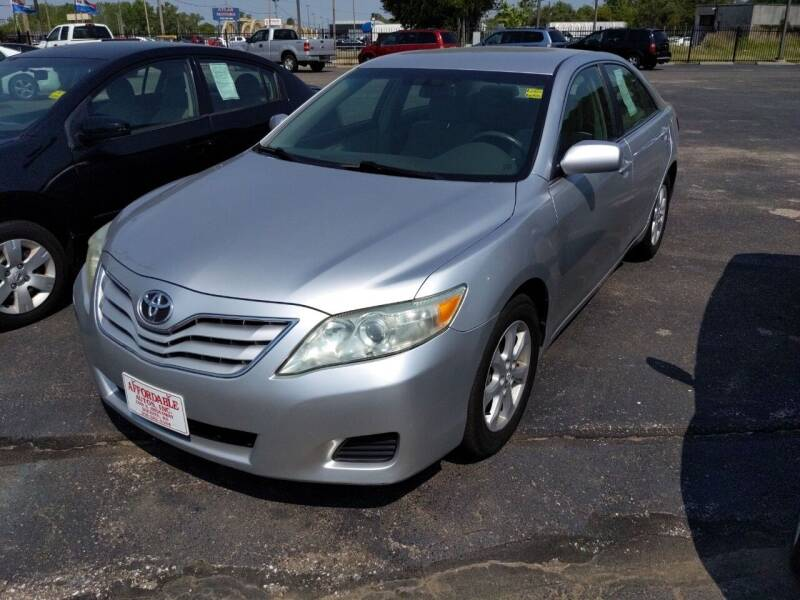 2010 Toyota Camry for sale at Affordable Autos in Wichita KS