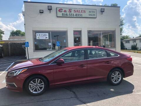 2015 Hyundai Sonata for sale at C & S SALES in Belton MO