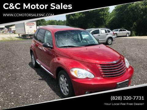 2010 Chrysler PT Cruiser for sale at C&C Motor Sales LLC in Hudson NC