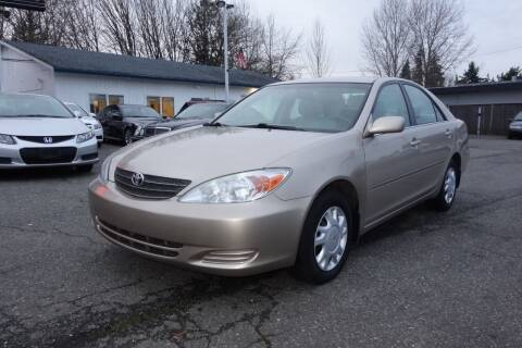 2004 Toyota Camry for sale at Leavitt Auto Sales and Used Car City in Everett WA
