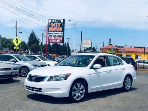 2008 Honda Accord for sale at City Motors in Hayward CA
