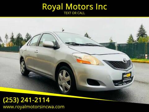 2009 Toyota Yaris for sale at Royal Motors Inc in Kent WA
