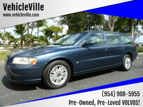 2005 Volvo V70 for sale at VehicleVille in Fort Lauderdale FL