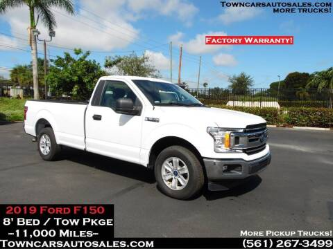 2019 Ford F-150 for sale at Town Cars Auto Sales in West Palm Beach FL
