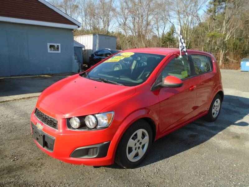 2015 Chevrolet Sonic for sale at Taunton Auto & Truck Sales in Taunton MA