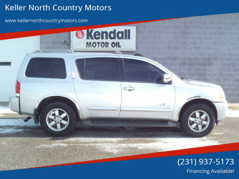 2007 Nissan Armada for sale at Keller North Country Motors in Howard City MI