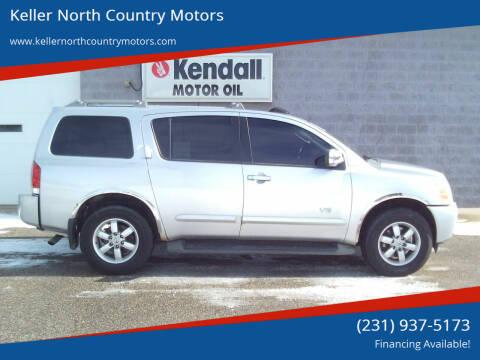 2007 Nissan Armada for sale at Keller North Country Motors in Howard City MI