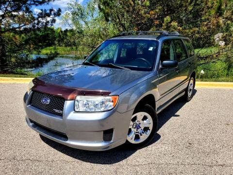 2007 Subaru Forester for sale at Excalibur Auto Sales in Palatine IL