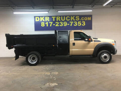 2011 Ford F-450 Super Duty for sale at DKR Trucks in Arlington TX