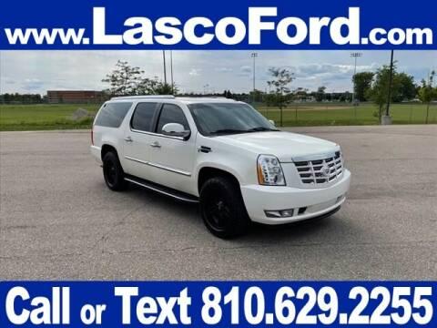 2012 Cadillac Escalade ESV for sale at Lasco of Grand Blanc in Grand Blanc MI