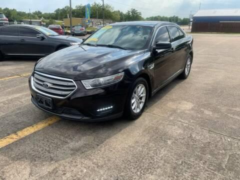 2013 Ford Taurus for sale at Wheelstone Auto Sales in La Porte TX