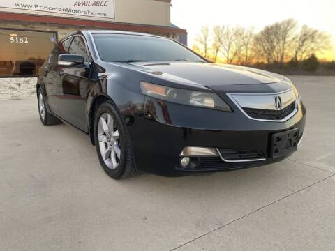 2012 Acura TL for sale at Princeton Motors in Princeton TX