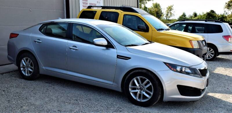 2011 Kia Optima for sale at PINNACLE ROAD AUTOMOTIVE LLC in Moraine OH