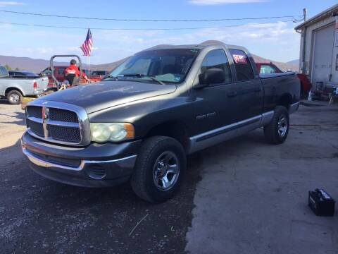 2002 Dodge Ram Pickup 1500 for sale at Troys Auto Sales in Dornsife PA