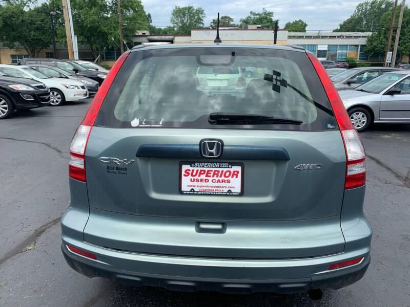 2010 Honda CR-V AWD LX 4dr SUV - Cuyahoga Falls OH